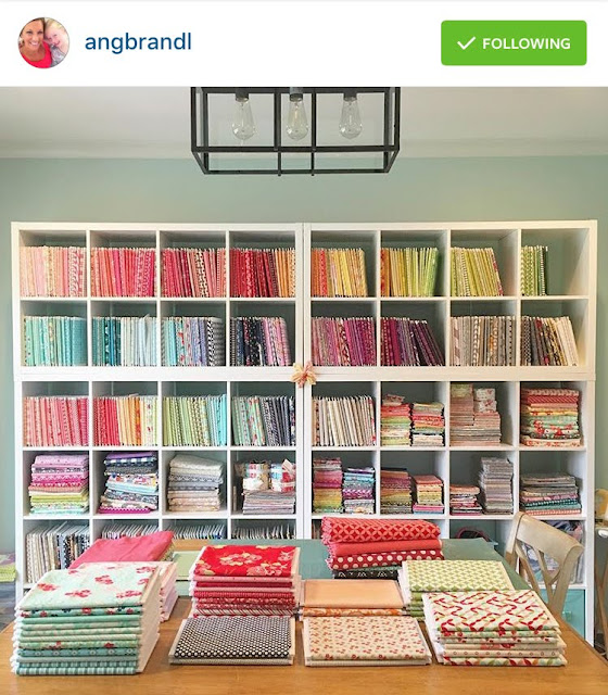 Five Friday Favorites: sewing room inspiration from @angbrandl