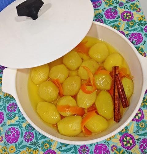 receta-de-patatas-confitadas-con-naranja-miel-y-canela