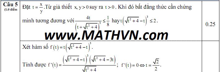 dap an de thi hoc ki 1 bac giang toan 12 nam hoc 2014-2015