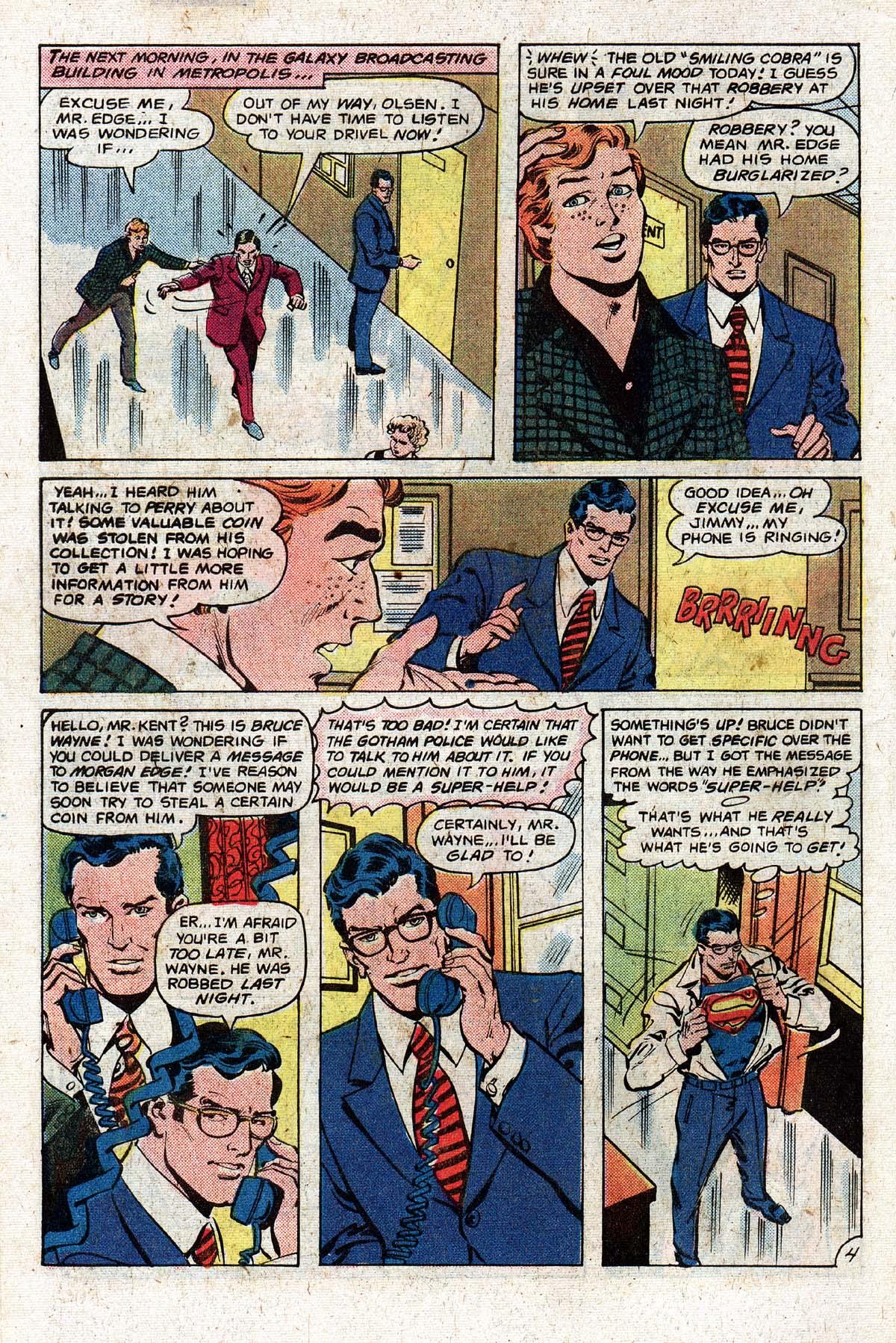 Read online World's Finest Comics comic -  Issue #268 - 6