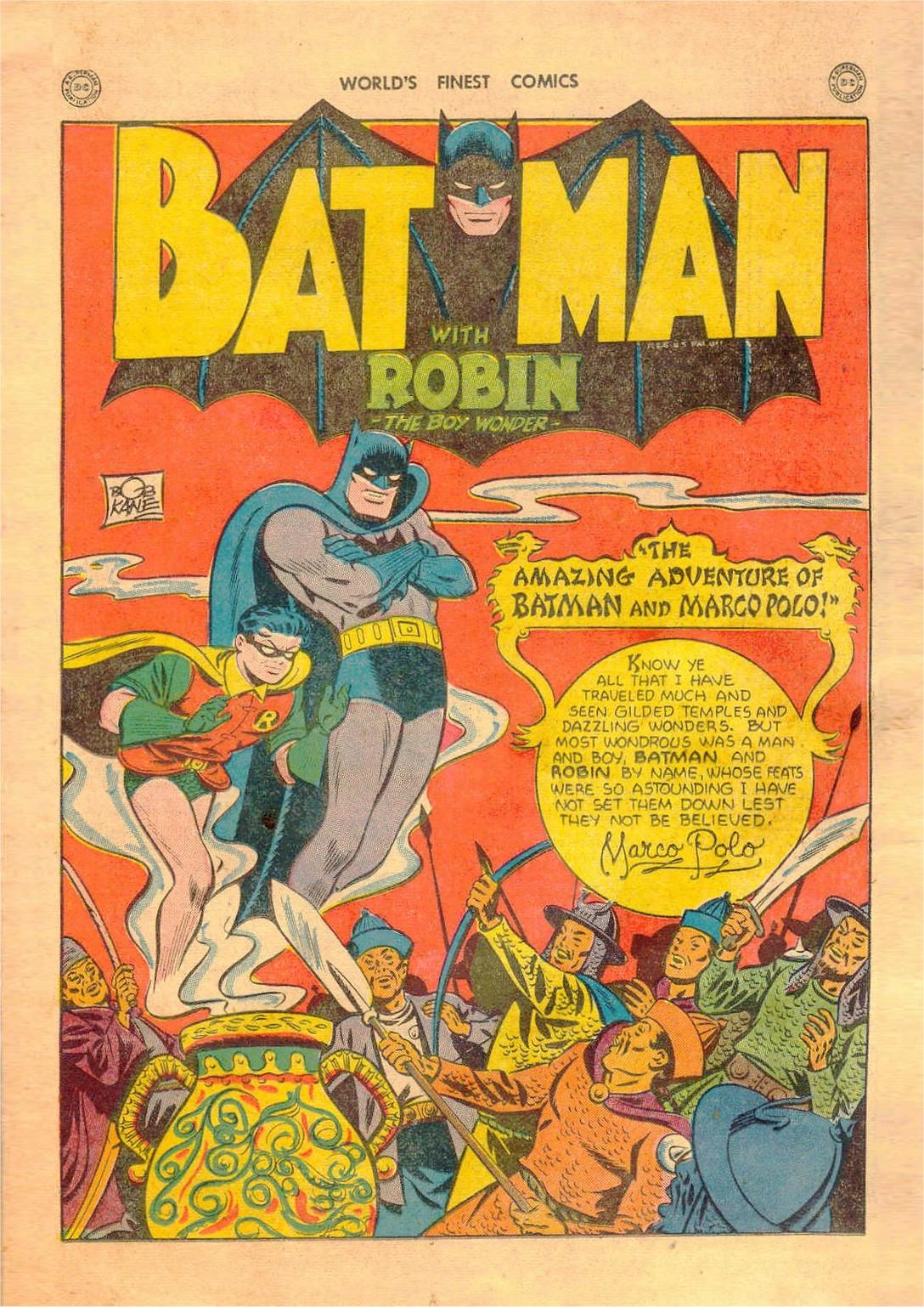 Read online World's Finest Comics comic -  Issue #42 - 62