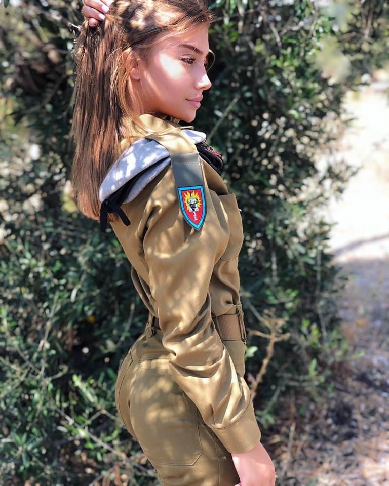 Female sexy soldier Israeli Female