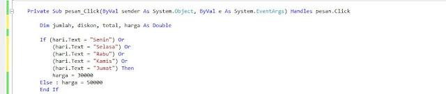 Program Visual Studio : Membuat Aplikasi Pembelian Tiket ...