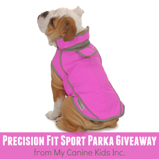 My Canine Kids Precision Fit Sport Parka Giveaway