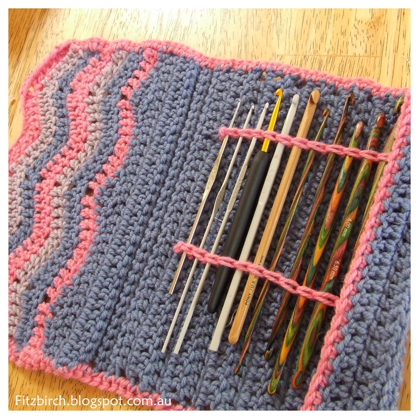 Fitzbirch Crafts Chevron Crochet Hook Case Crcht 4 Hme T