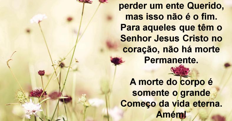 Frases Bíblicas De Conforto Para Morte