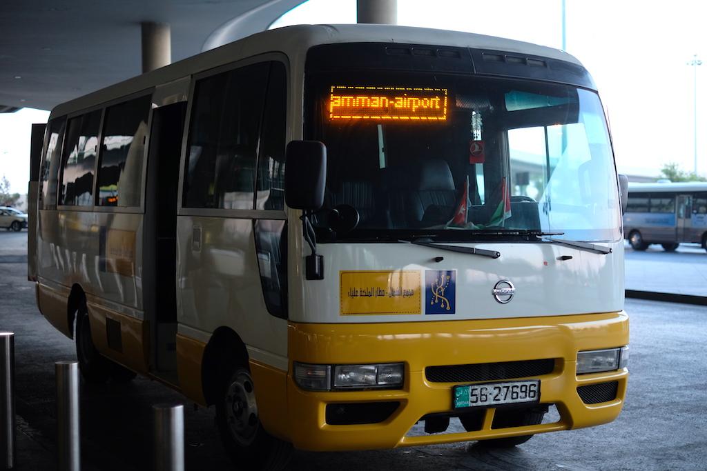 Liburan ke Jordan (Jerash dan Amman) - Airport Bus