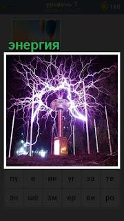 произошел выброс энергии, электрические разряды из трансформаторной будки