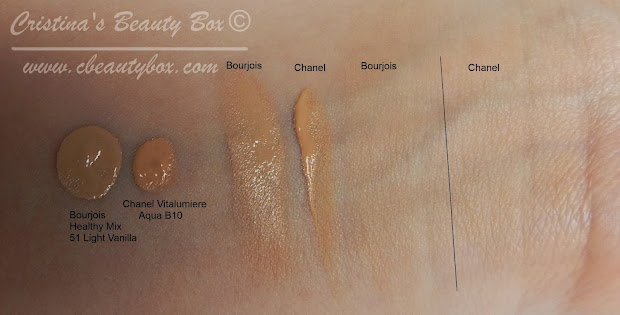 20 Swatches Bourjois Healthy Skin Pictures And Ideas On Meta Networks