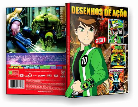 CAPA DVD – Desenhos De Ação Vol.11 – ISO