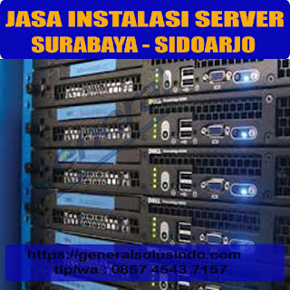 jasa instalasi dan konfigurasi server surabaya sidoarjo