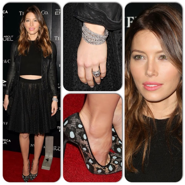 Jessica Biel in Giambattista Valli – 'The Truth About Emanuel' LA Premiere
