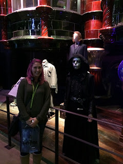 Harry Potter studio tour Leavesden Death eater
