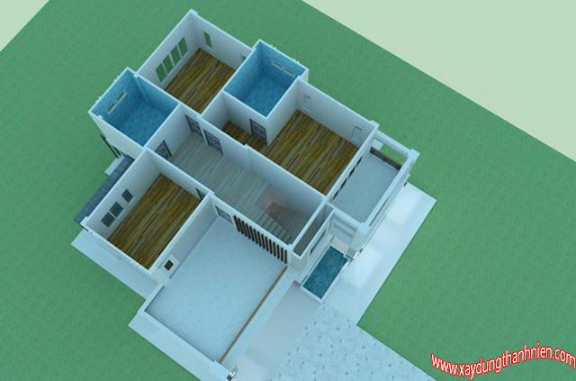 Mẫu Thiết Kế Biệt Thự Hiện Đại 3 Phòng Ngủ