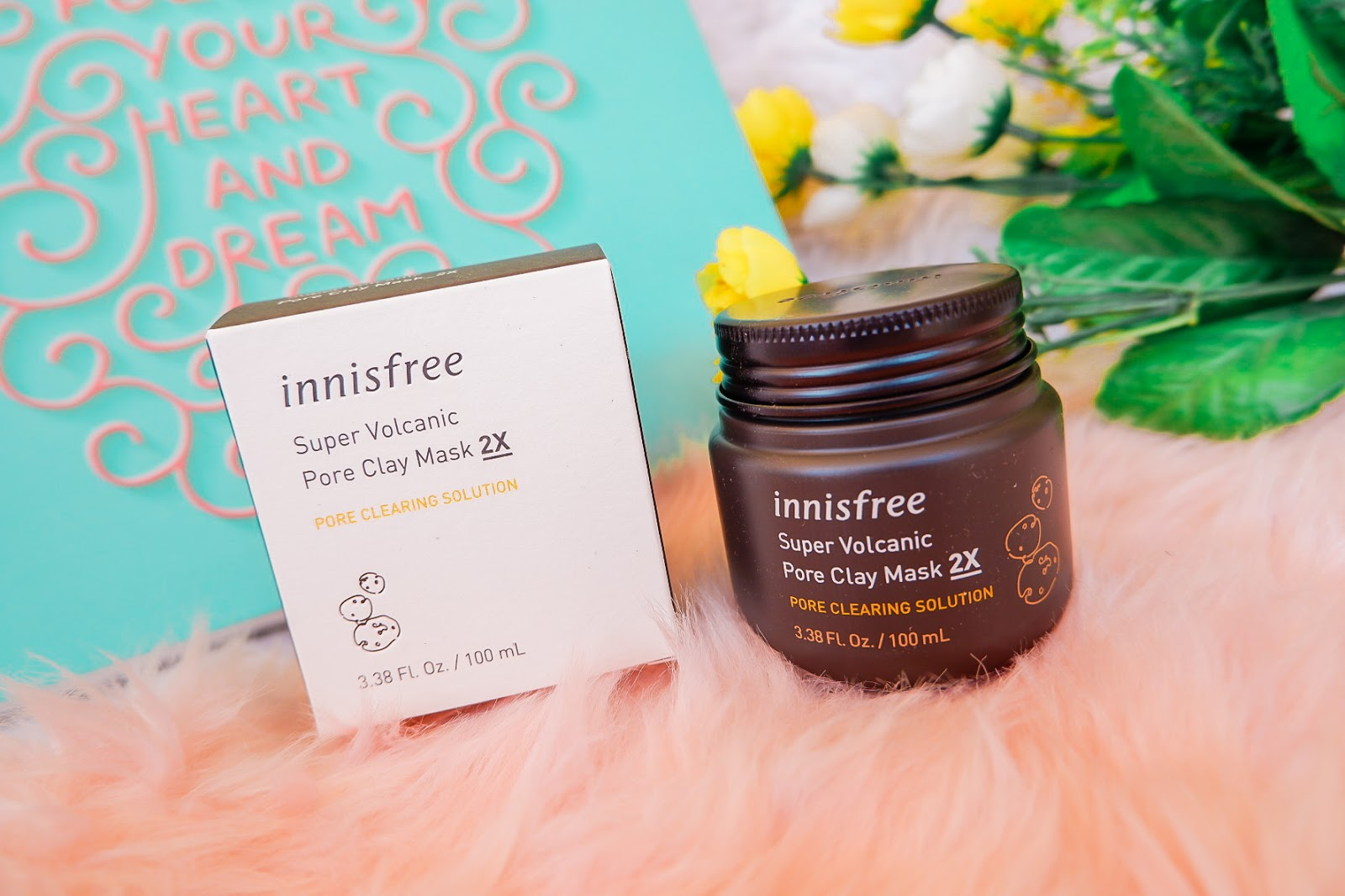 My First Dara Beauty Market Skincare Haul - Innisfree Super Volcanic Pore Clay Mask 2X
