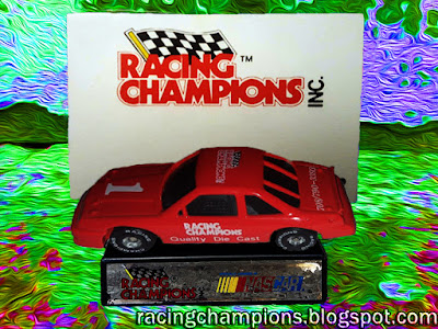 1989 Action Promo Mini Cars Electric Pedal Racing Champions 1/64 NASCAR diecast blog