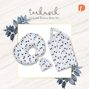 Terkasih Colorful Pattern Baby Set of 2