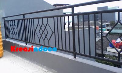 Pemasangan Balkon Stainless dan Balkon Besi Di Taman Ratu Tanjung Duren Jakarta Barat Rumah Bpk Ravael