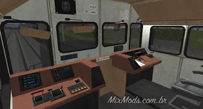 gta sa mod hd train freight remaster interior