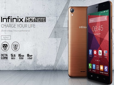 Gambar Infinix Hot Note