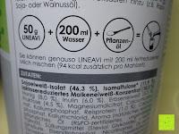 Dosieren: Lineavi Vitalkost – Der gesunde Diät Shake für Ihr Abnehmprogramm + Shaker, 500g (Starterpaket)