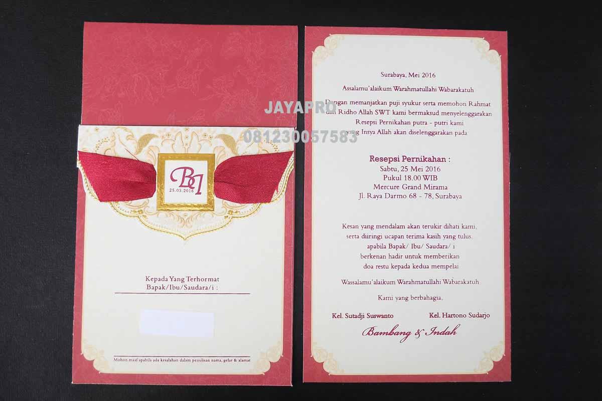 Contoh Amplop Undangan Pernikahan Harga Template Undangan Amplop