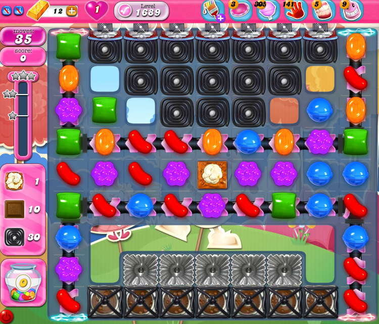 Candy Crush Saga 1689