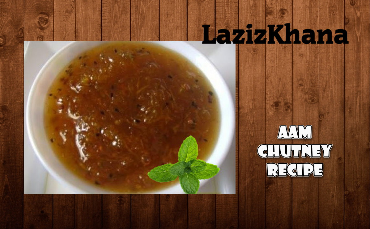 Aam ki Khatti Meethi Chutney Recipe in Roman English