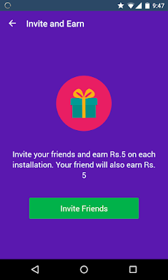 Refer friends to Loqation app and get 5 for each referral + your friend will also earn Rs 5