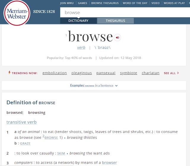Arti Browsing