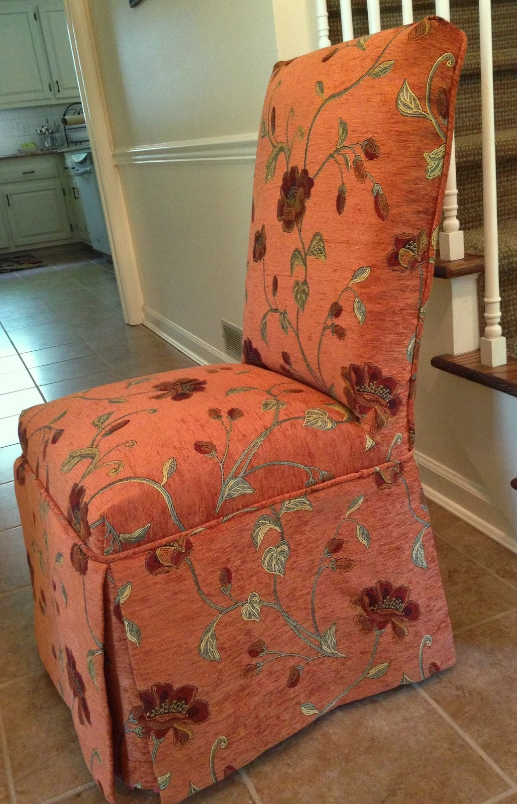 burlap dining chair covers wedding berkshire pam morris sews slipcovers