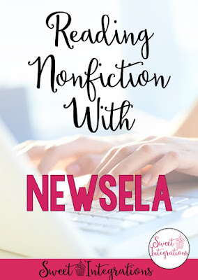 Let your students read engaging nonfiction text with Newsela. This blog post gives great tips and ideas for how to use the site to keep students engaged.It's great for use in the classroom or homeschool. Use this website to integrate technology into your lessons or activities. Current events mean students will keep up-to-date on what is happening in the world while reading informational text, doing test prep, learning, and having fun. Great for upper elementary or middle school students.