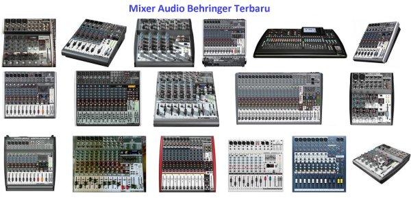 Harga Mixer Audio BEHRINGER Terbaru Untuk Sound System