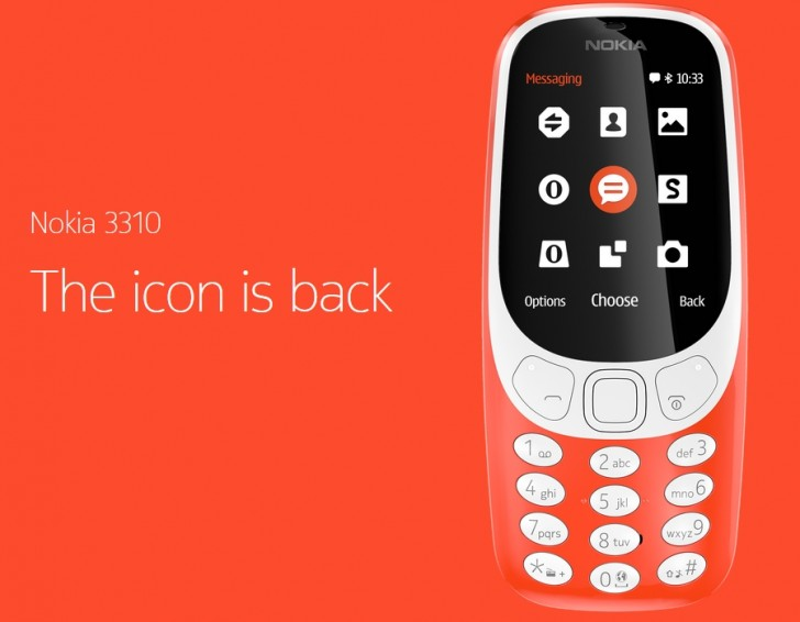 عوده لهاتف نوكيا 3310 بشكل جديد رائع