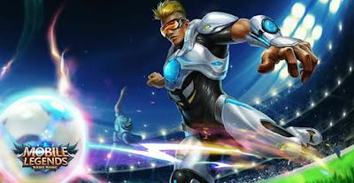 Bruno Mobile Legends adalah hero tipe marksman yang memiliki desain seperti pemain sepak bola. Dia memiliki speed attack dan movement yang sangat cepat