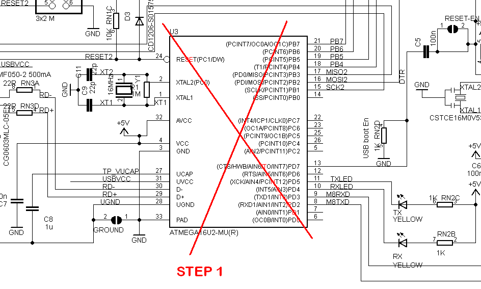 Arduino Uno R3 Circuit Diagram