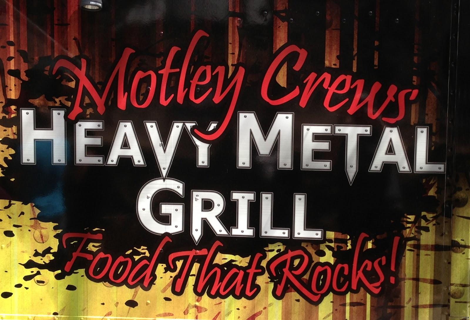 Heavy Metal Grill Food Truck Menu