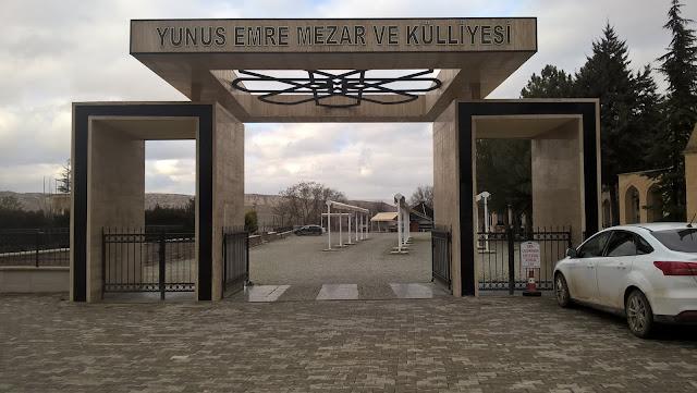 Yunus Emre Mezarı ve Kültür Evi giriş