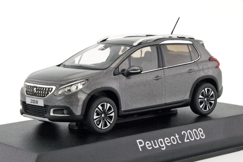 facelift peugeot 2008 im ma stab 1 43 norev in bestform. Black Bedroom Furniture Sets. Home Design Ideas