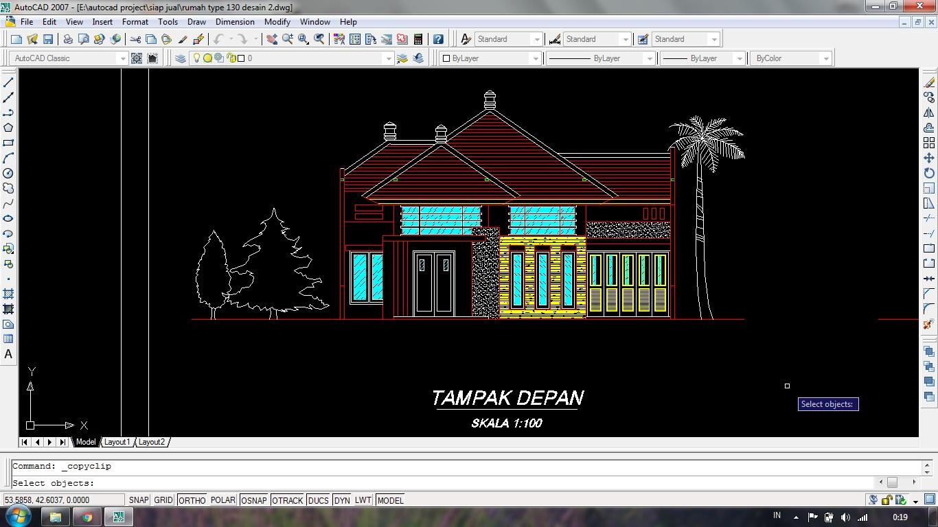 gambar desain rumah autocad - 28 images - gambar desain rumah menggunakan autocad 2012 wallpaper ...