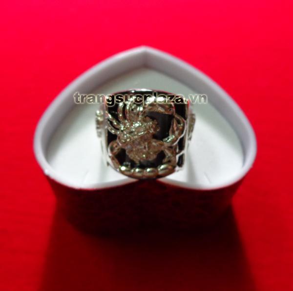 Nhẫn bạc nam NN306