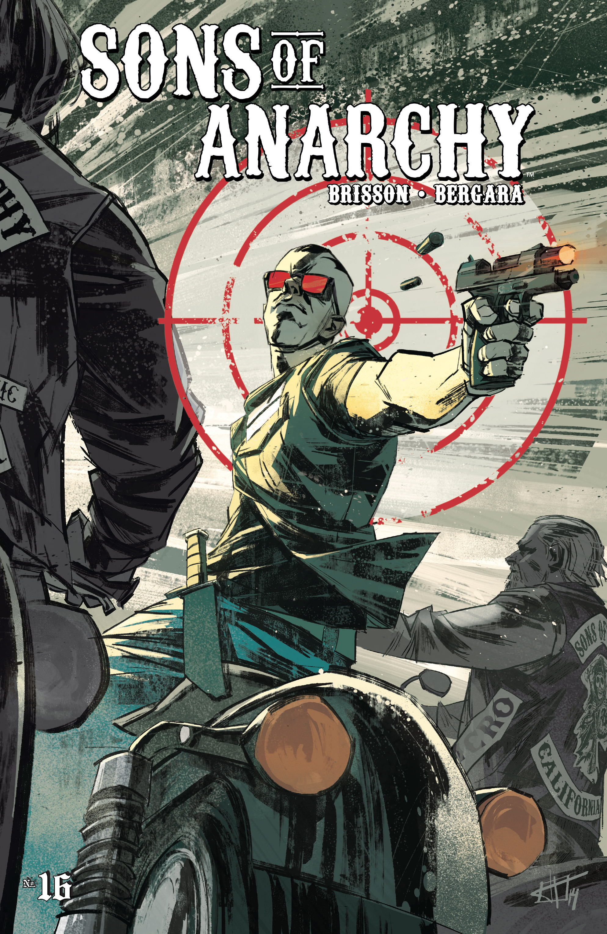 Read online Sons of Anarchy comic -  Issue #16 - 1