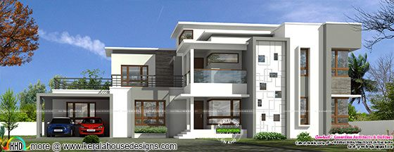 5 bedroom 4185 sq-ft contemporary home
