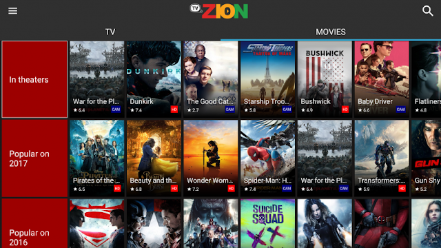 popcorn time teatv terrarium alternative