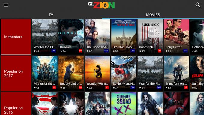 TVZion - Μία νέα λύση για δωρεάv προβολή ταινιών και σειρών με υπότιτλους