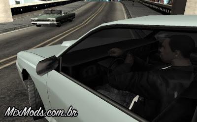 mod animação virar o volante gta sa