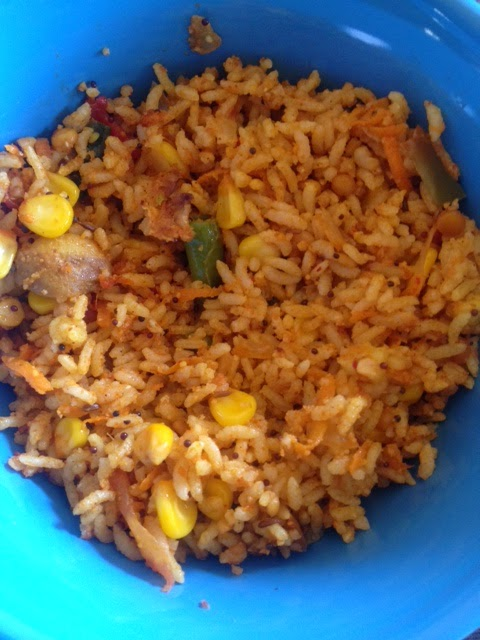 Vegetable Corn Rice