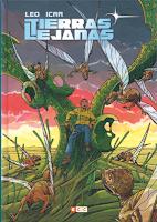 Tierras lejanas comic verano 2018 de Leo e Icar - ciencia ficción