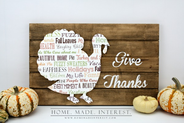 15 AWESOME Gratitude Filled THANKSGIVING DAY Ideas - SIGN SLATE