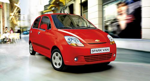 Giá xe Chevrolet Spark Van hai phong